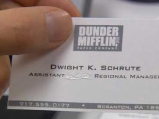 Dwight Assistant Regional Manager