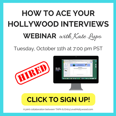 How to Ace Your Hollywood Interviews
